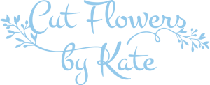 Cut flowers by Kate Logo
